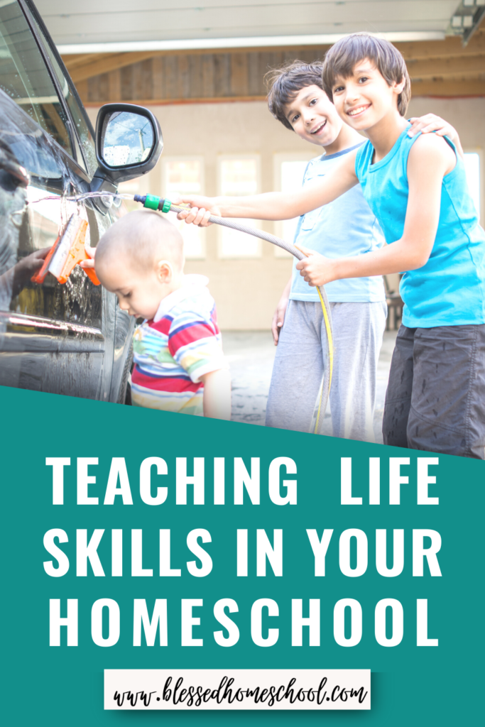 The lazy days of summer are the perfect time to work on life skills with your children. Here are 5 great reasons why!
