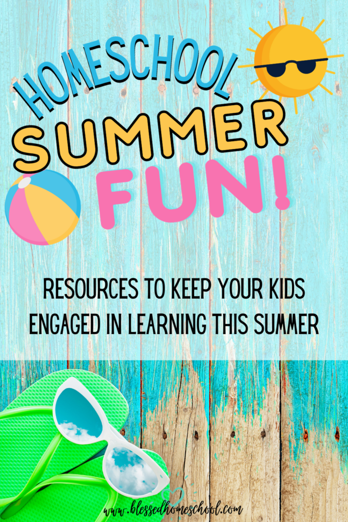 I've teamed up with 20 homeschool bloggers and we're bringing you one post each day, sharing some of our best ideas to make the most of your homeschooling summer season.