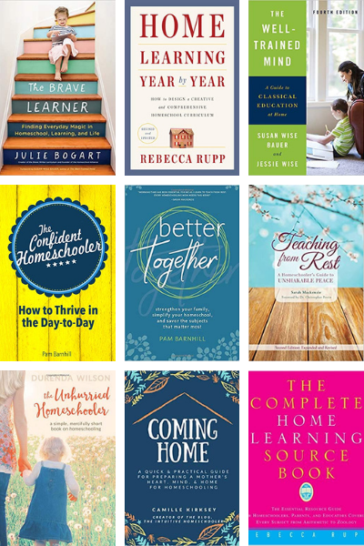 Whether you are just getting started with homeschooling or are a veteran, we can all use tips for successful homeschooling. These books are a must-read collection for homeschool moms to come alongside them on their journey.