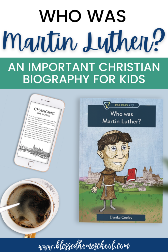 Who Was Martin Luther? is a book that will help your kids learn about important events and people in Christian history.